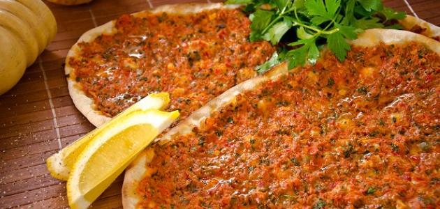 طريقة عمل لحم بالعجين ( صفيحة اللحم)