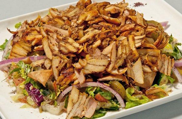 شاورما الدجاج